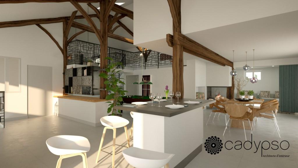 renovation maison complete par cadypso maison d 39 architecte. Black Bedroom Furniture Sets. Home Design Ideas