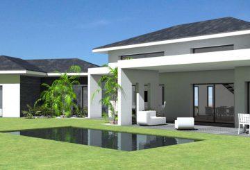 Maison à grande terrasse couverte, par Atelier Scénario