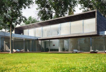Maison Béton et Verre – HOUSE XV, par SKP architecture