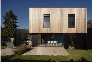 Maison contemporaine à Villeneuve d'Ascq, par Riva Architectes