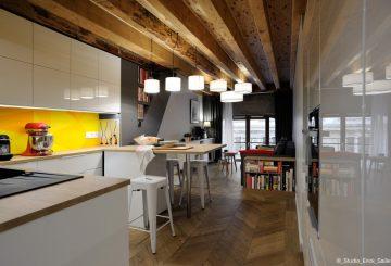 Appartement Jardin des plantes 69001, par Franck VADOT Architecture