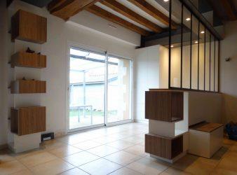 Création d'une entrée chez des particuliers, par Atelier Créa' Design