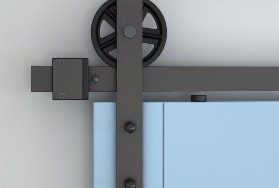Des rails de porte coulissante pour tous les goûts., par DESIGN MAT