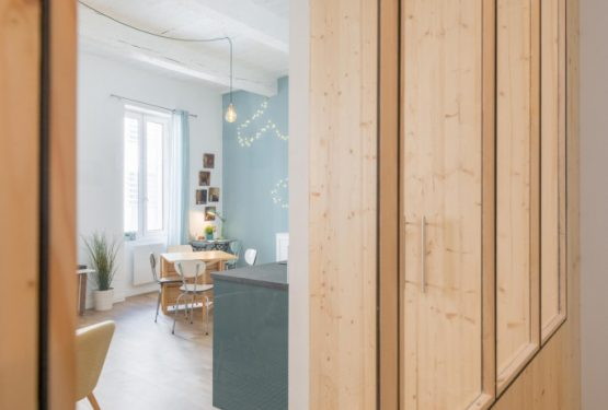 Le 2 | Rénovation complète d'un appartement en centre-ville, par Studio Miha