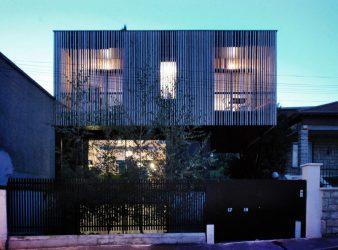 Maison Bois – BBC – Basse consumation – DANS LES BOIS, par SKP architecture