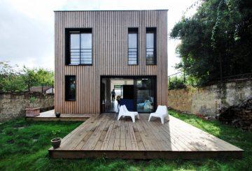 Maison en Bois – Passive – SPACE INVADERS, par SKP architecture