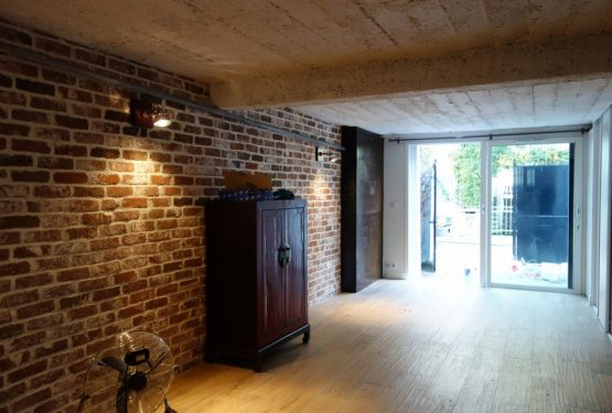 Rénovation totale d'une maison à Paris, par Axe et Création