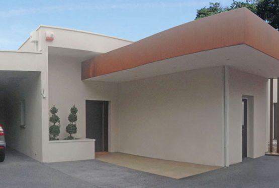 Villa d'exception acier Corten, par Atelier Scénario