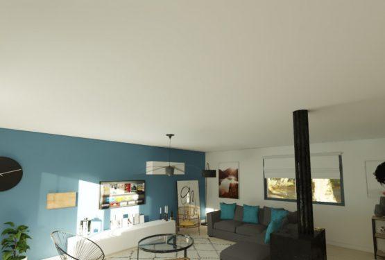 Aménagement et décoration d'un double séjour d'une maison à Bordeaux, par L'Atelier d'Angélique