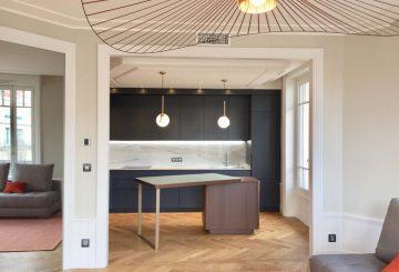 Appartement ancien rénové à Lyon, par RSD Agencements