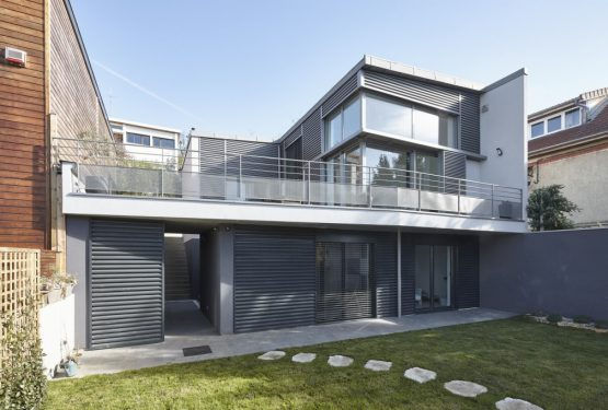 Construction d'une maison individuelle à Fontenay-aux-Roses, par AHA – Alexandre Hordé Architectes