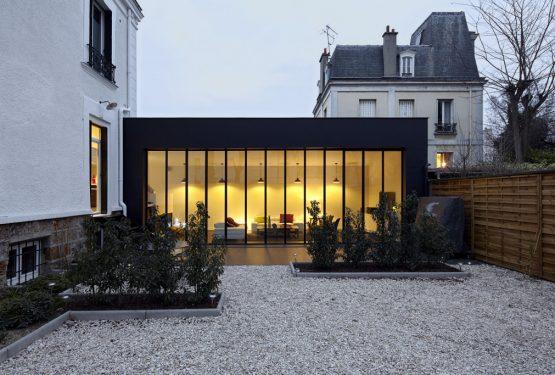 Extension et réhabilitation d'une maison fin 19e, par AHA – Alexandre Hordé Architectes