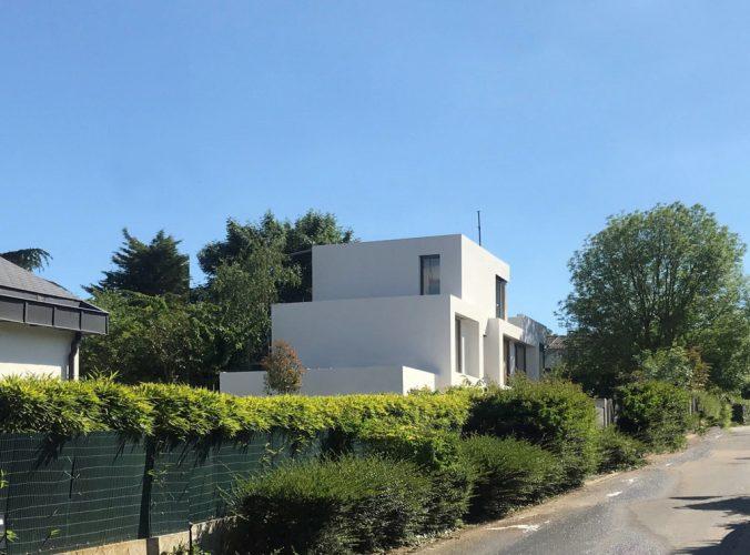 Maison Blanche Contemporaine – MAISON  Y, par SKP architecture