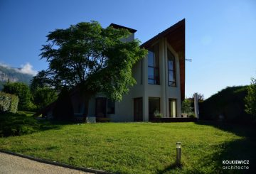 Maison contemporaine A. (Montbonnot-Saint-Martin), par KOLKIEWICZ