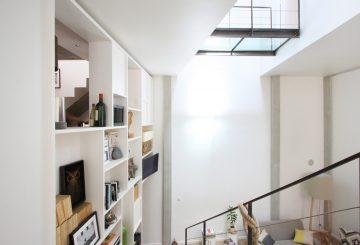 Réhabilitation Lourde d'une Maison de Ville à Clichy, par SKP architecture