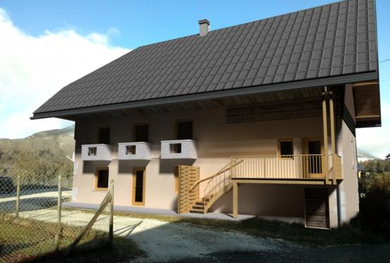 Rénovation d'une bâtisse Bellecombe en Bauges, par ALEXIS MORAND