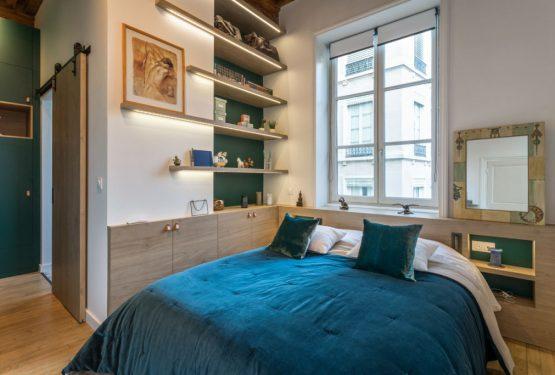 Rénovation d'une suite parentale à Lyon par Atelier OCTA: architecte d'intérieur à Lyon, par Atelier OCTA