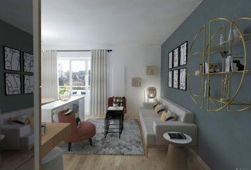 V I R I D I // Rénovation appartement, par Emma Willinger