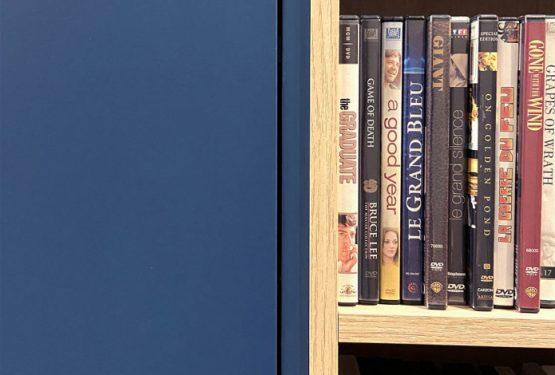 Bibliothèque sur mesure réalisée par Atelier OCTA à Lyon, par Atelier OCTA