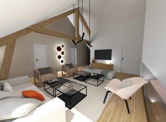 M O N T E M // Rénovation maison individuelle, par Emma Willinger
