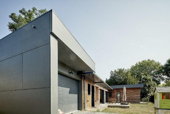 Création Maison Ossature Bois FP 33, par Cendrine Deville Jacquot